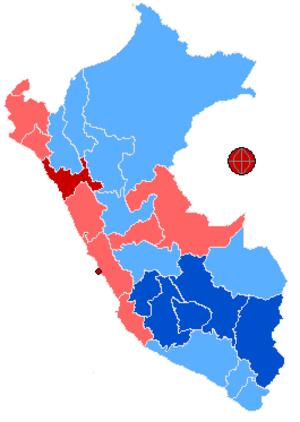 Ollanta Humala - Image: Peru 2006 2nd Rnd