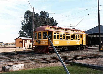 Petaluma and Santa Rosa Railroad - Image: Petaluma Santa Rosa At WRM