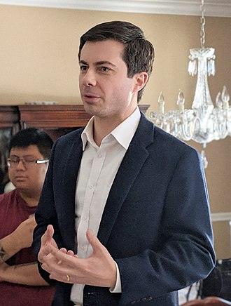 Pete Buttigieg - Buttigieg in February 2019