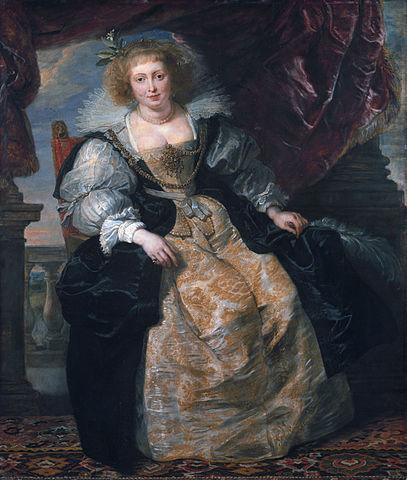Портрет Елены Фоурмен в свадебном платье. 1630—1631 годы, масло на дубе. 163,5×136,9см. Мюнхен, Старая пинакотека