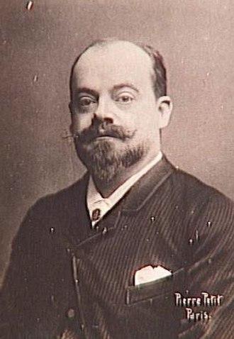 Gabriel Ferrier - Gabriel Ferrier. Photograph by Pierre Petit