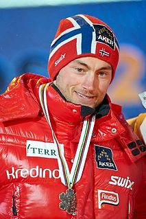 Petter Northug Norwegian cross-country skier