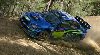 Petter Solberg - Solberg at the 2005 Cyprus Rally.