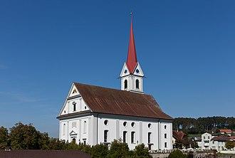 Pfaffnau - Image: Pfaffnau Kirche 2