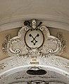 Pfarrkirche Ravelsbach Wappen Stift Melk.jpg