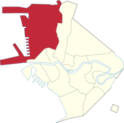 Location of Tondo