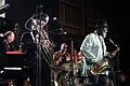 Pharoah Sanders Quartet ft Dwight Trible and Howard Johnson - INNtöne Jazzfestival 2013 29.jpg