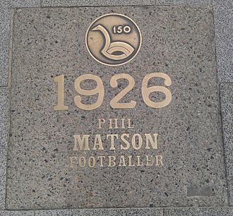 Phil Matson - Matson's paver on St Georges Terrace, Perth