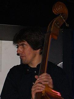 Philippe Aerts Jazz double bassist