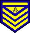 Philippine Coast Guard Petty Officer 2nd Class Rank Insignia