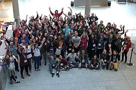 Photo du groupe Wikiconvention francophone 2017 (01).jpg