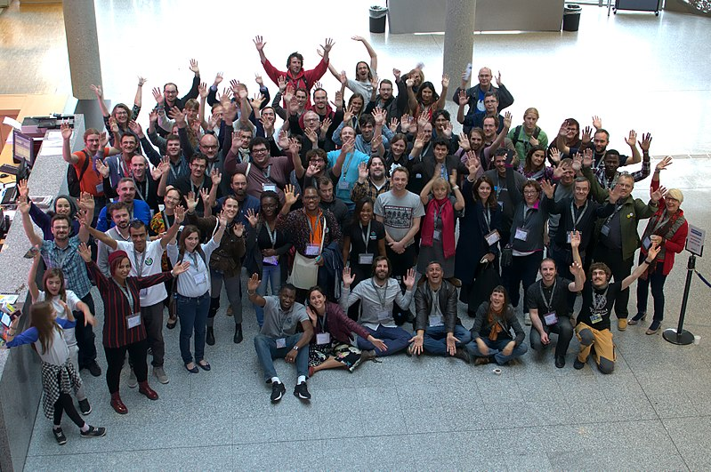 File:Photo du groupe Wikiconvention francophone 2017 (01).jpg