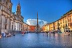 Rzym - Bazylika Santa Maria sopra Minerva - Włoch