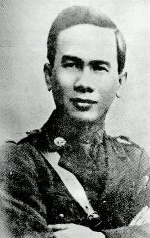 "Siamese revolution of 1932 - ""Promoter"" and one of the founders of the Khana Ratsadon, Luang Phibulsonggram, leader of the young army faction"