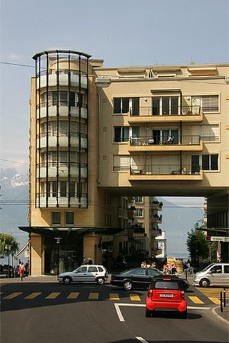 Montreux - Apartment building in Montreux