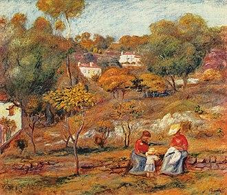 Cagnes-sur-Mer - Image: Pierre Auguste Renoir 062