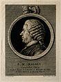 Pierre-Louis-Marie Maloët. Line engraving by A. de St Aubin, Wellcome V0003801.jpg