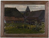 Piet Mondriaan - Farm buildings in an Achterhoek village - 0334246 - Kunstmuseum Den Haag.jpg