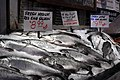 Pike Place Market - Silver Salmon at Pure Food Fish 01.jpg