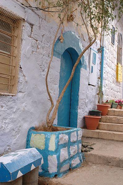 סמטה בעיר העתיקה בצפת