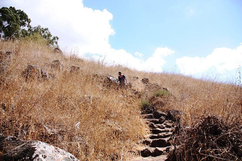 בדרך למפל דבורה