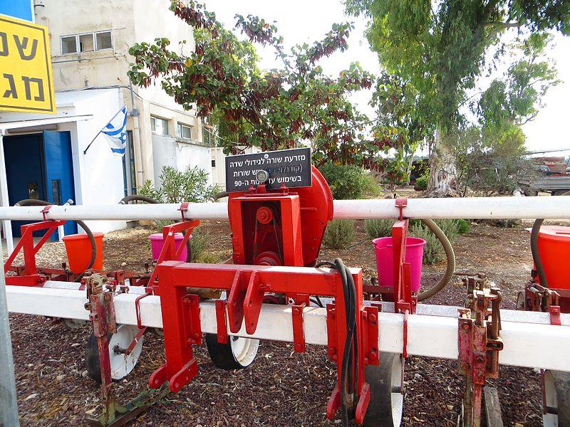 תצוגת כלים חקלאיים
