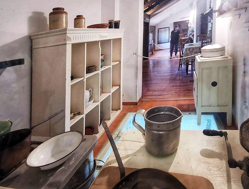 מטבח משומר במוזיאון ראשון לציון