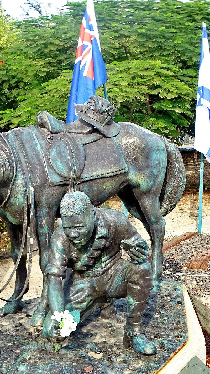 פסל הלוחם האבורגיני בצמח