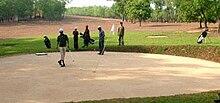 Mangalore Golfbaan bij Pilikula
