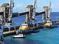 Pilot Nelson 35, Pelican II, Barbados II and cranes C IMG 3027.JPG