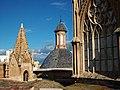 Pinacle, cúpula, cimbori. Catedral de València.JPG