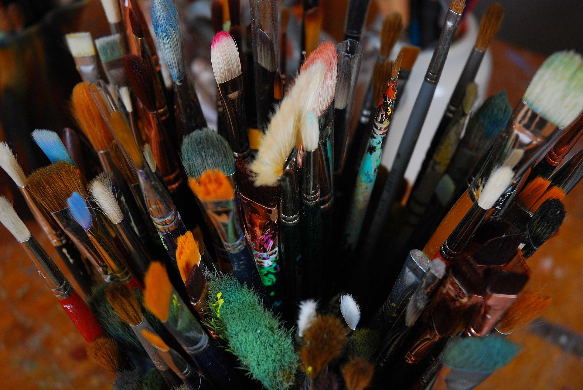 pinceaux de maquillage