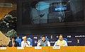Piyush Goyal addressing a Press Conference on Deendayal Upadhyaya Gram Jyoti Yojana- Rural Electrification Scheme, in New Delhi (1).jpg