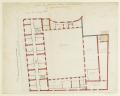 Plan du premier étage de la basse-cour du Petit Luxembourg, 1709 project var1 - Gallica 2011-09.png