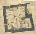 Plan of Saga Castle in 1796 (Chokokan).jpg
