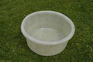 Low-density polyethylene - A GEECO bowl, c.1950, still used in 2014.