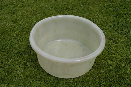 Plastic (LDPE) bowl, by GEECO, Made in England, c. 1950 Plastic (LDPE) bowl, by GEECO, Made in England, c1950.jpg