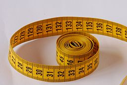 Plastic tape measure