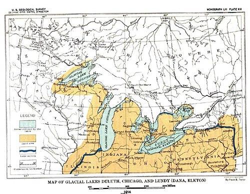 Wisconsin Glaciation Wikipedia