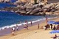 Playa Piedras de Tlacoyunque, Técpan, Guerrero- Piedras de Tlacoyunque Beach, Tecpan, Guerrero (23220468822).jpg