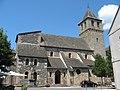 Pleaux, église St-Sauveur, sud.jpg