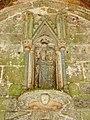 Plouha (22) Chapelle de Kermaria-an-Isquit Porche sud Intérieur 01.JPG