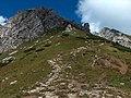 Podejście na Giewont od Strążyskiej - panoramio.jpg