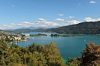 Wörthersee lake