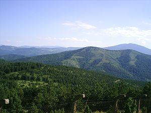 Goč - Image: Pogled Goc