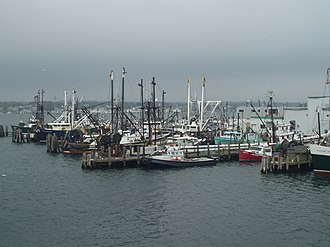 Point Judith, Rhode Island - Point Judith ferry dock