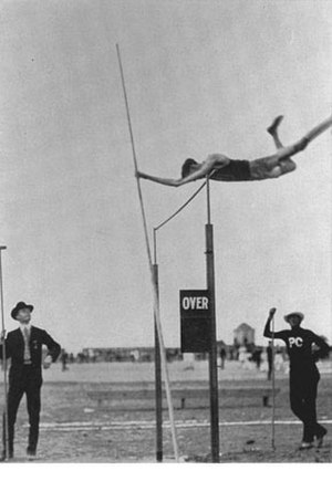 Pole vault at the Olympics - Image: Pole vault event at the 1904 Summer Olympics
