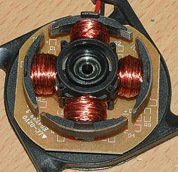 Якорь и ротор электродвигателя