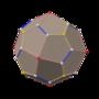 Polyhedron snub 6-8 left dual