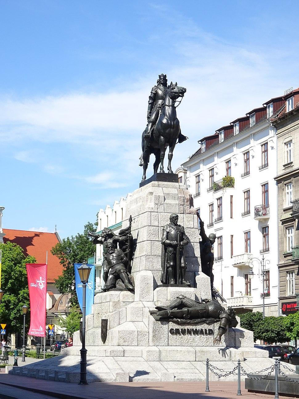PomnikGrunwaldzki-PlacMatejki-POL, Kraków
